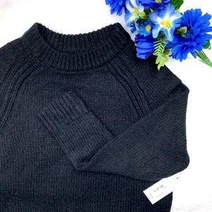 NWT I•A.N.A•I Black Knit Sweater